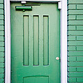 Green Door San Francisco by David Smith