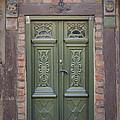 Green Door Ystad by Antony McAulay