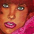 Green Eyed Redhead by Ellen Cannon