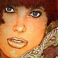 Green Eyed Redhead IIi by Ellen Cannon