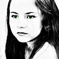 Green Eyes by Rebecca Frank