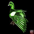 Green Fractal Wigeon 7702 - Bb by James Ahn