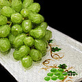 Green Grapes Painterly by Andee Design