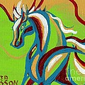 Green Horse by Genevieve Esson