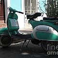 Green Vespa by Jorge Erick Ramos