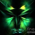 Green Man by Kim Sy Ok
