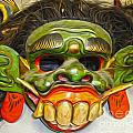 Green Mask by Gregory Dyer