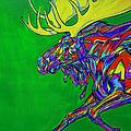 Green Mega Moose by Derrick Higgins