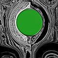 Green Mirror by Fei A