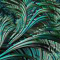 Green Palm - A Fractal Abstract by Ann Garrett