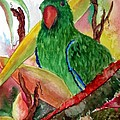 Green Parrot by Lil Taylor