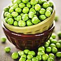 Green Peas by Elena Elisseeva