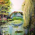 Green Pond by Svetlana Semenova