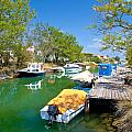 Green River Boats In Croatia  by Brch Photography