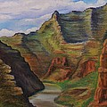 Green River Utah by Lucy Deane