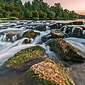 Green Rocks by Davorin Mance