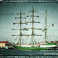 Green Sail by Perry Webster