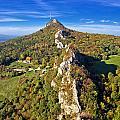 Green Scenery Of Kalnik Mountain Ridge by Brch Photography
