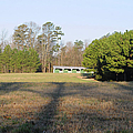 Green Stables - Lake Wheeler Road by Paulette B Wright