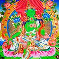 Green Tara 11 by Jeelan Clark
