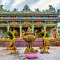 Green Temple by Roberta Bragan