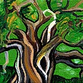 Green Tree by Genevieve Esson