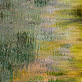 Green Water Abstract by Britt Runyon