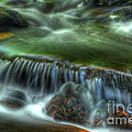 Green Waters by Paul W Faust -  Impressions of Light