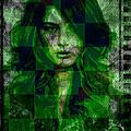 Green With Envy by Absinthe Art By Michelle LeAnn Scott