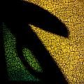 Green-yellow-black by Brian Blevins