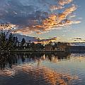 Greenlake Autumn Sunset by Mike Reid