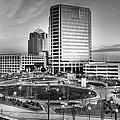 Greensboro Center City Park Bw by Dan Carmichael