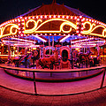 Greenway Carousel - Boston by Mark Valentine