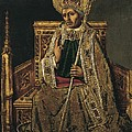 Gregory I The Great, Saint 540-604 by Everett