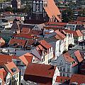 Greifswald Roofscape Pomerania by Ros Drinkwater