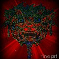 Gremlin In Dynamic Color by Kelly Awad