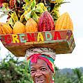 Grenada Spice Woman. by Oscar Williams