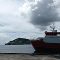 Grenadines Wharf by Sean Roache