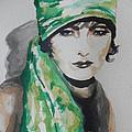 Greta Garbo by Chrisann Ellis