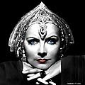 Greta Garbo Portrait by Gabriel T Toro