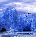 Grey Glacier Patagonia Chile by James Brunker