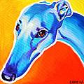 Greyhound - Lizzie by Alicia VanNoy Call