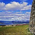 Grianan Of Aileach View by Nina Ficur Feenan