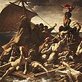 G�ricault, Th�odore 1791-1824. The Raft by Everett