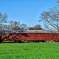 Griesemers Mill Covered Bridge Berks County Pennsylvania by Bill Cannon