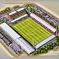 Griffin Park - Brentford Fc by D J Rogers