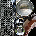 Grill And Headlight by Dave Mills
