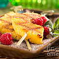 Grilled Pineapple  by Iris Richardson