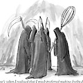 Grim Reapers Stand In A Circle by Julia Suits