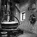 Grinder For Unmalted Barley In An Old Distillery by RicardMN Photography
